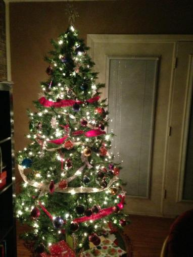 Our Christmas Tree 2012.