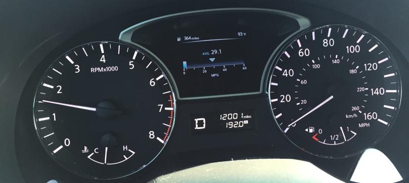 Hitting 12k miles on my Nissan